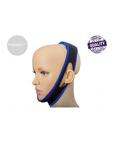 Bandeau anti-ronflement sur mannequin