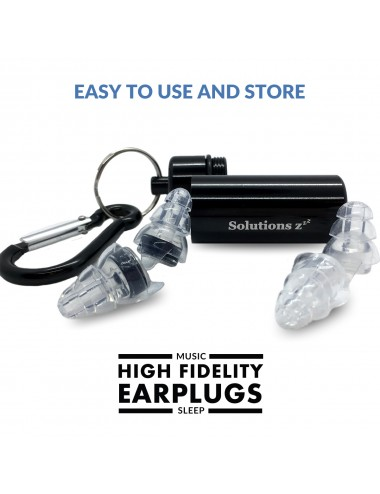 Bouchon oreille protège contre les décibels