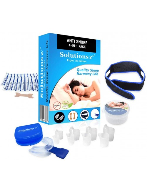 Pack, kit complet anti ronflement